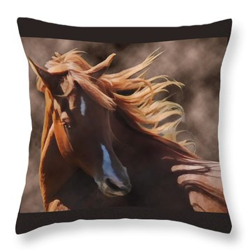 Shahmaan Throw Pillow