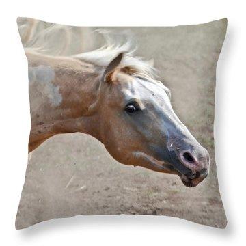 Shake It Loose Baby Throw Pillow by Athena Mckinzie