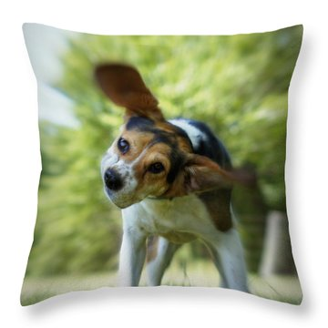 Shake Shake Shake Throw Pillow