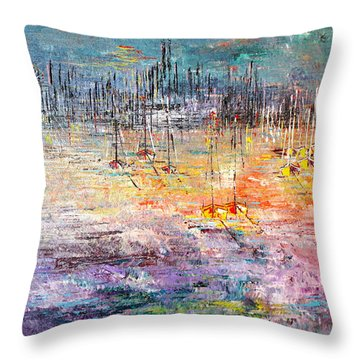 Shallow Water - Sold Throw Pillow