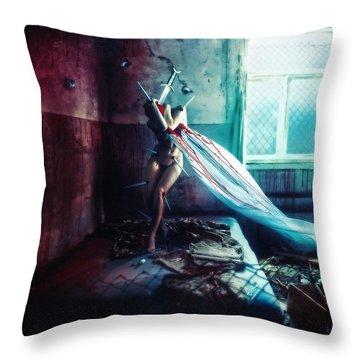 Darkness Throw Pillows