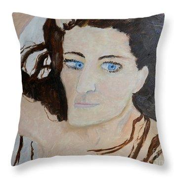 Shan Model 2  Throw Pillow