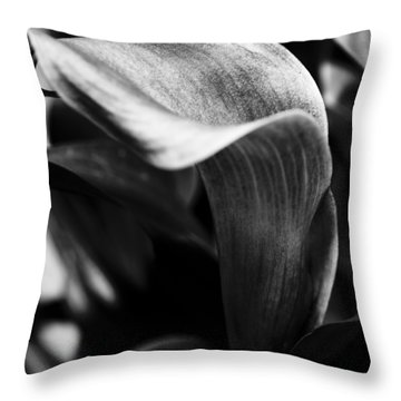 Shapely As A Lily Throw Pillow by Christi Kraft