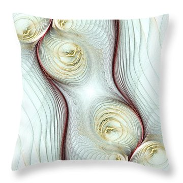 Shapes Throw Pillow by Anastasiya Malakhova