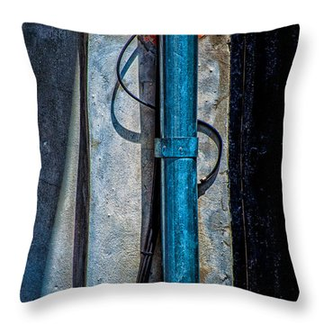 Shapes And Colors Throw Pillow