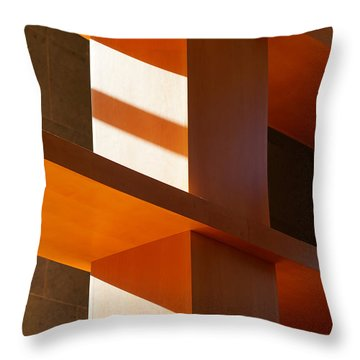 Shapes And Shadows 2 Throw Pillow by Ernie Echols