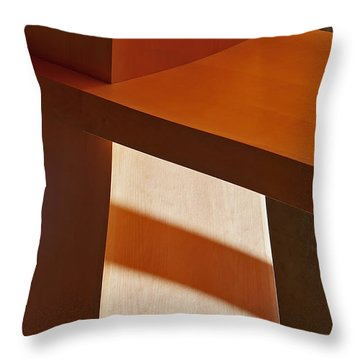 Shapes And Shadows Throw Pillow by Ernie Echols