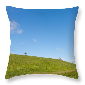 Shapes Of Nature Part Three Throw Pillow by Semmick Photo