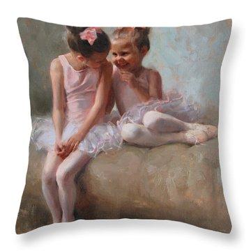 Ribbons Throw Pillows