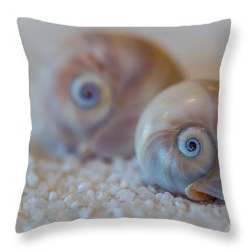 Shark Eye Throw Pillow