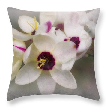 Throw Pillow featuring the photograph Sharon by Elaine Teague