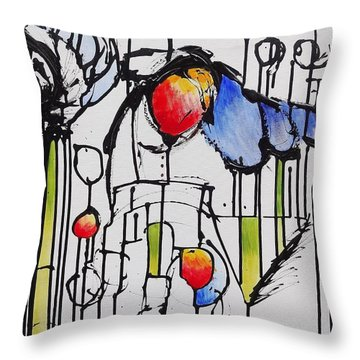 Sharpened Perception Throw Pillow by Jason Williamson
