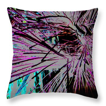 Throw Pillow featuring the photograph Shatter  by Jamie Lynn