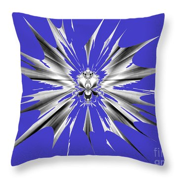 Shattered Throw Pillow by Renee Trenholm