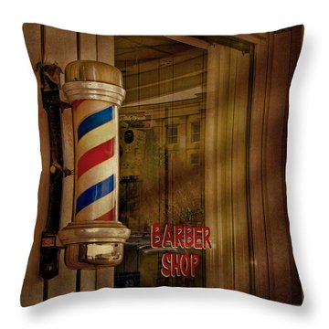 Shave And A Haircut Two Bits  Throw Pillow