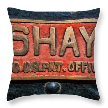 Shay Builders Plate Throw Pillow