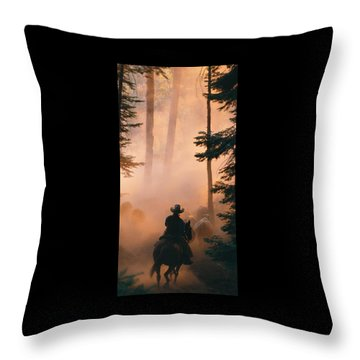 Shayna Throw Pillow by Diane Bohna