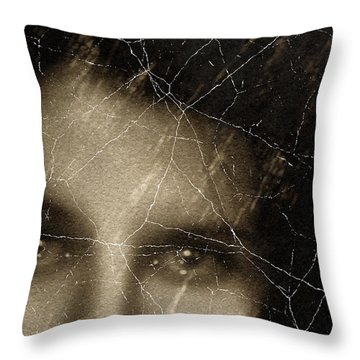 She Died Before Your Eyes Throw Pillow