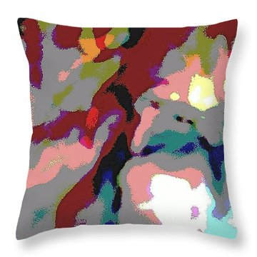 She Has Found Her Way Throw Pillow by Jacqueline McReynolds