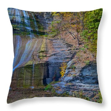 She-qua-ga Throw Pillow