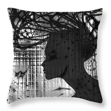 She Rocks Throw Pillow