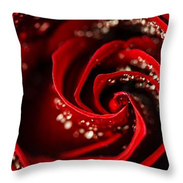 She Sparkles And Shines Throw Pillow