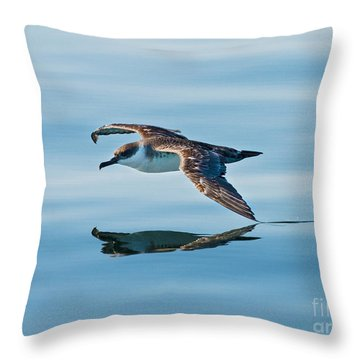 Shearing The Water... Throw Pillow