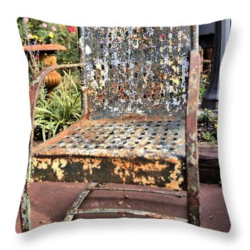 Shedding Throw Pillow