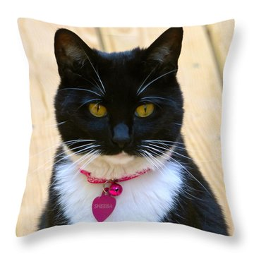 Sheeba Throw Pillow