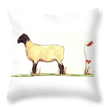 Sheep Throw Pillows