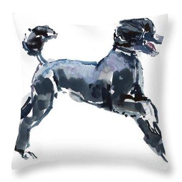 Poodle Throw Pillows