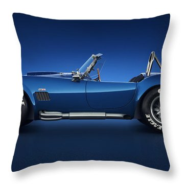 Shelby Cobra 427 - Water Snake Throw Pillow