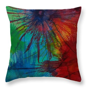 Shelbys  Flowers Throw Pillow
