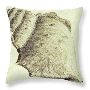 Shell Throw Pillow