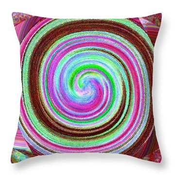 Shell Shocked Throw Pillow by Catherine Lott
