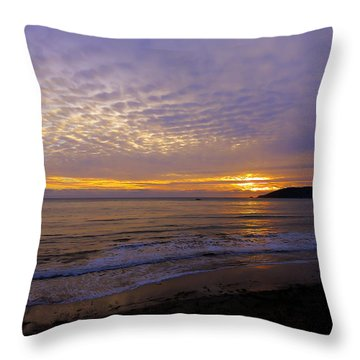 Shellfire Throw Pillow by Paul Foutz