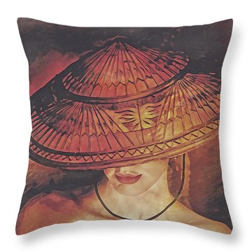 Shelter Throw Pillow
