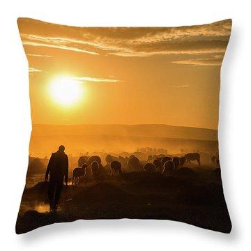 Herd Throw Pillows