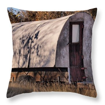 Shepherd's Castle Throw Pillow