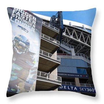 Richard Sherman's House Throw Pillow