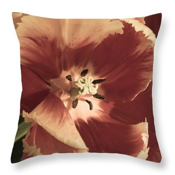 Sherwood Tulips 2 Throw Pillow
