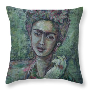 She's Free To Fly Throw Pillow