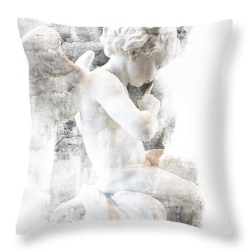 Shhhhh Throw Pillow