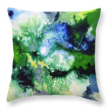 Shift To Grey Throw Pillow