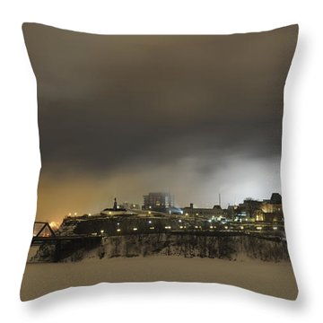 Shimmer Of Pearl.. Throw Pillow