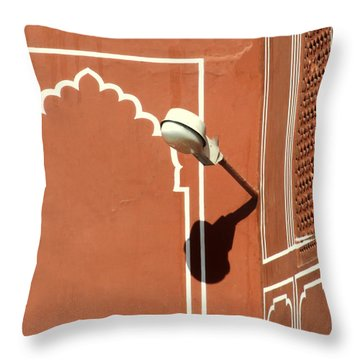 Shine Throw Pillow by A Rey