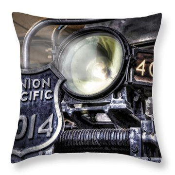 Throw Pillow featuring the photograph Shine Bright by Ken Smith