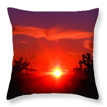Shineing Star  Throw Pillow