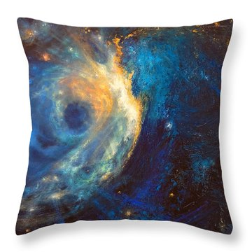 Shines The Nameless Throw Pillow
