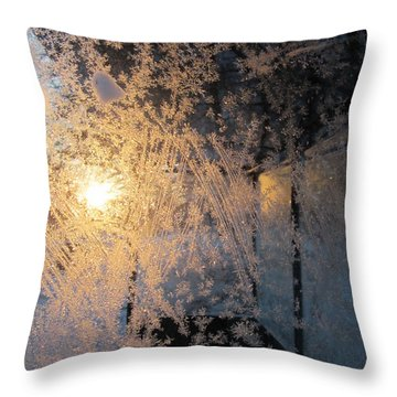 Shines Through And Illuminates The Day Throw Pillow
